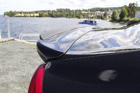 Lett: Detaljer i karbon går igjen over hele bilen.