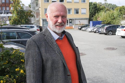 UTVIKLER: Roar Jacobsen foreslår å utvikle området ved å bygge leiligheter i Strandgata.