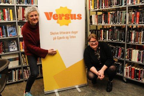 FØRST UT: Lisbeth Eilertsen (t.v.) og Siri Lindstad er de første som arrangerer en skeiv litteraturfestival i Norge. «Versus – Skeive litterære dager»  går av stabelen 2. og 3. februar.