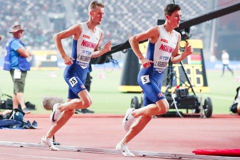 PRESTASJON: Er Ingebrigtsen-brødrene tidenes norske løpere? Nei, én løper og en by står i veien; en for lengst død nordmann og Moskva, mener artikkelforfatteren.