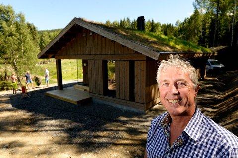 LØNNSVINNER: Arve Noreng, sjef for Leve Hytter, er den som hadde størst inntekt i Oppland i 2018 ifølge skattelistene.