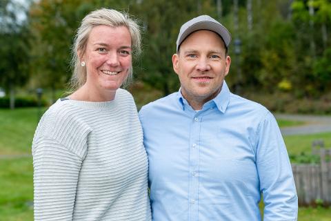 IKKE KLAFF: Gnisten ble ikke tent mellom bonden Vegard Valbø og totningen Ågot Marie Larsstuen som ble sendt hjem av telemarkingen.