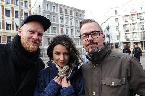 NYE TONER: Lewi Bergrud (f.v.) har med seg Maria Solheim og Ole Børud når han i november legger ut på nok en Blåtoner-turne.