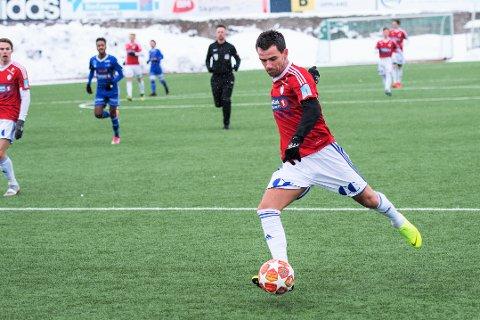 Rocky Lekaj presenterte seg med to scoringer og flere lekre detaljer i sin debut for FK Gjøvik-Lyn.