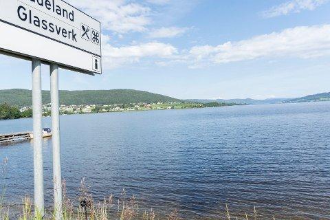 VANN HERFRA TIL OSLO: Jo Heringstad tar til orde for å lage krafttunnel fra Randsfjorden til Steinsfjorden, og samtidig bruke Randsfjorden som drikkevannskilde til Oslo.