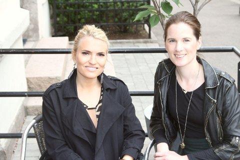"""TIL KAMP FOR MANGFOLD: Barndomsvenninnene Isabelle Ringnes (t.v.) og Marie Sunde har lansert nytt nettsted der du kan """"anmelde"""" din egen arbeidsgiver."""