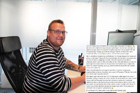 VÆR LITT MER KRITISK: IT-mann Mats Thorvaldsen oppforder folk til å tenke seg om før de installerer applikasjoner og gir fra seg personlige data.