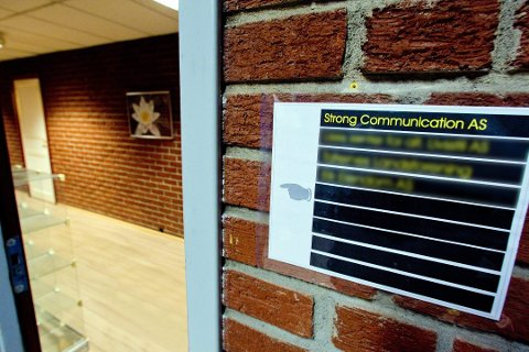 KONGSVINGER: Daglig leder Jo Alund er fra Gjøvik, men firmaet Strong Communication har sine kontor på Kongsvinger.