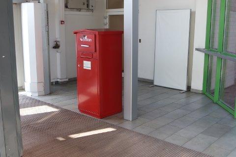 IKKE TØMT: Denne postkassen ble ikke tømt på lang tid. – Vi beklager, sier Posten.