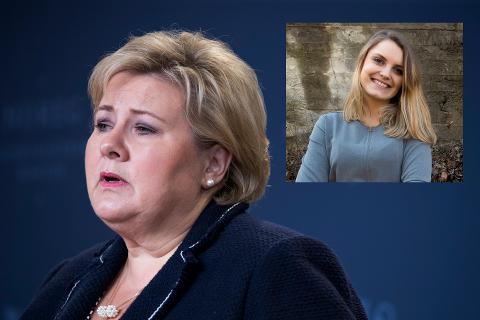 TRENGER NY RÅDGIVER: Statstminister Erna Solberg trenger hjelp til kommunikasjonsarbeidet.