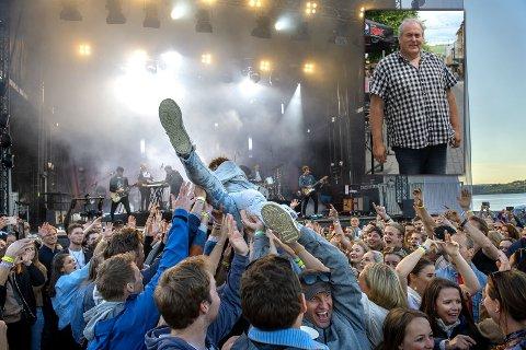 HAVNER PÅ SAMME HELG: Når Fredvikafestivalen flytter helg havner de samtidig som 2830 sommerfestival på Raufoss. Festivalsjefen på Raufoss synes det er synd at publikumet nå må velge.