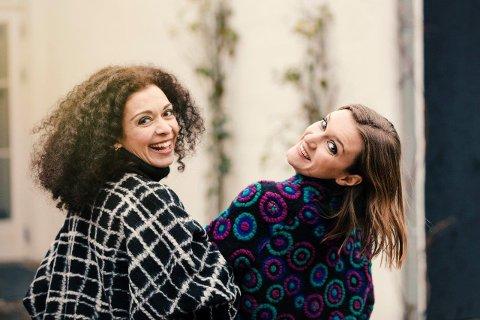 Marianna Shirinyan (t. v) og Guro Kleven Hagen skal lede Valdres sommersymfoni.
