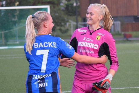 Nora Panengstuen holdt buret rent da Raufoss tok et viktig poeng i bortekampen mot Sarpsborg 08.