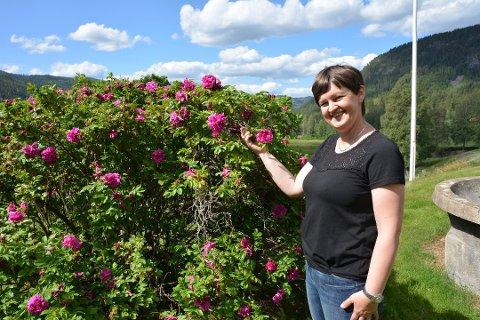 Hyggeleg for Senterpartiet: Marit Hougsrud har grunn til å smile etter svært hyggelege galluptal. Foto: Bjørn Karsrud