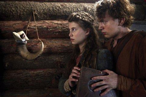 TROLSK: «Askeladden - i Soria Moria slott», her med Vebjørn Enger og Eili Harboe, kan notere seg for nest beste åpningshelg for norsk film hittil i 2019.