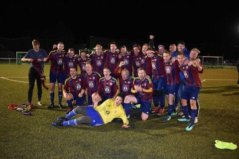 SERIEGULL: Eina vant 6. divisjon avdeling 4 etter seier mot Brandbu torsdag kveld.