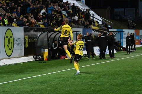 Snorre Strand Nilsen ble helten for Raufoss mot KFUM