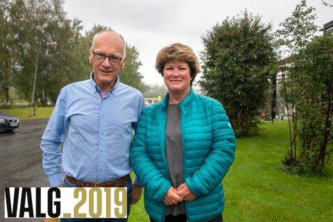 JOKERE?: Kjetil Weyde (KrF) og Christin Guldahl Madsen (V) kan bli jokere etter kommunevalget i Gjøvik i høst. Mens KrF åpner for samarbeid med Ap, er det mer uklart hva Guldahl Madsen og Venstre mener.