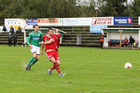 Lars Johan Kollshaugen scoret igjen for FK Toten.