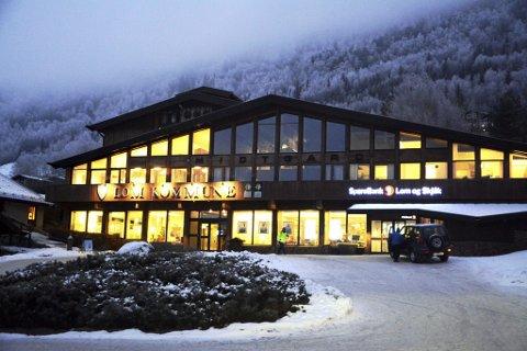 Illustrasjonsfoto fra kommunehuset i Lom.