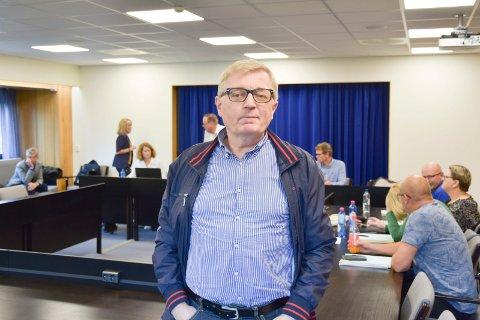 GJENVALGT: Oluf Maurud (KrF) håper å få partiets politikk mer synlig frem mot valget.
