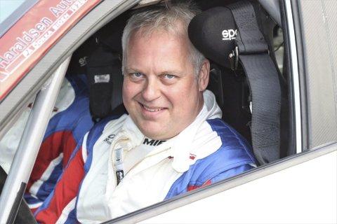 Geir Helge Frøslid måtte se seg slått av sønnen Håkon i helgas Rally Sigdal.