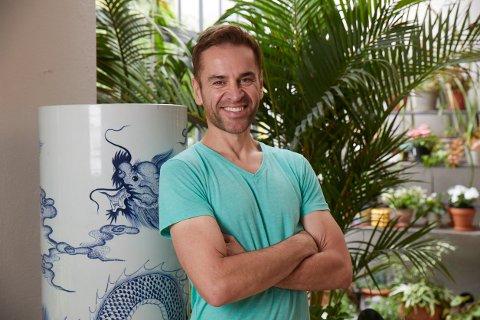 SENDT HJEM: Sascha Maximus er den første som ble sendt hjem fra innspillingen av TVNorges «Jan Thomas søker drømmeprinsen».  Foto: TVNorge