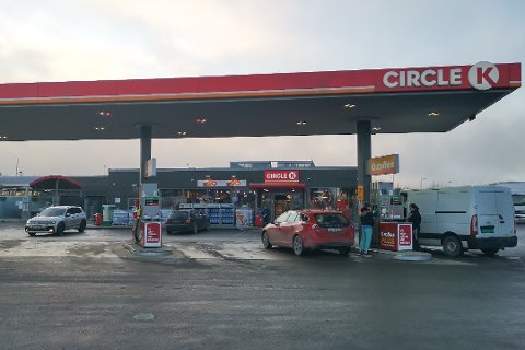DYRT: Spent situasjon i Midtøsten gir dyr bensin i Norge.