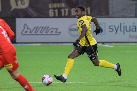 Solomon Owusu fikk oppleve en av sine største dager på fotballbanen på sin 25-årsdag - med seier over selveste Lillestrøm.