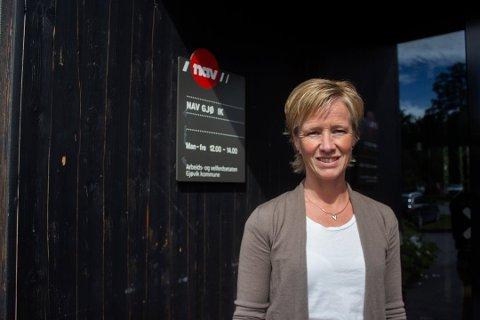 USIKKERT: Nav-leder Reidun Karlsen i Gjøvik tror mange unge arbeidssøkere går usikre tider i møte.