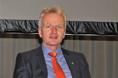 SKAPTE DEBATT: Etter en lengre debatt ble fylkesordfører Tron Bamruds forslag nedstemt.
