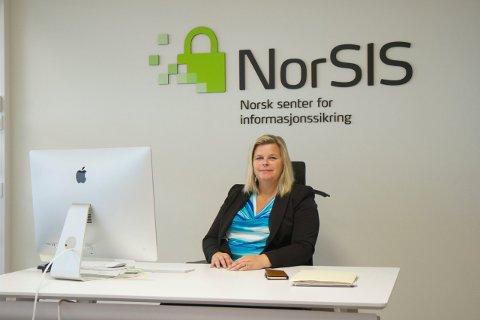 SLUTTET : Styret starter nå å finne ny administrerende direktør etter at Peggy Sandbekken har meddelt at hun slutter ved NorSIS etter 12 år.