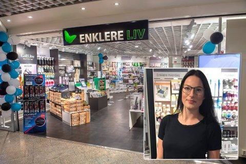 REÅPNER: Enklere Liv på CC åpnet dørene igjen på Gjøvik denne uka. Tale Einseth er overlykkelig.