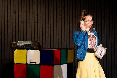 SCENEVANT: Etter å gått den såkalte musikallinja ved Toten folkehøgskole, er Kajsa Nesset etter hvert som verden tillater det klar til å gå løs på et skoleår i New York.