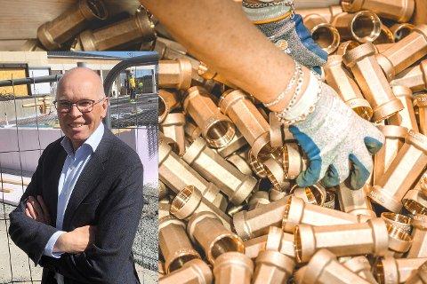 ENKELT VALG: Isiflo AS har kommet godt ut av koronaknipa. Nå henter de monteringsjobber fra Sveits, forteller administrerende direktør Lars Kristian Ølstad.