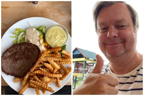 På norgesferie stoppet Espen Lervaag og familien på Biri for å kjøpe seg mat.