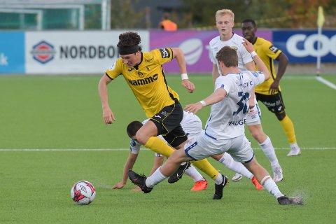 Matias Belli Moldskred var igjen god for Raufoss, men burde ha scoret flere mål.