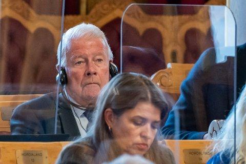 NESTOR: Carl I. Hagen (Frp) kan bli den eldste stortingsrepresentanten i neste perioden.