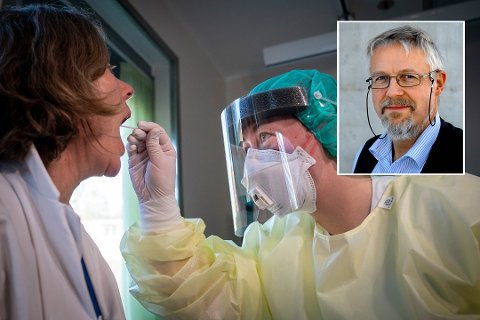 GOD KOTROLL: Raske prøvesvar og det at folk flest følger smittevernreglene gjør at en har god kontroll på smittesituasjonen, mener kommuneoverlege Jens A. Mørch.