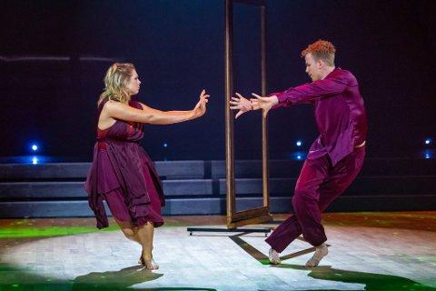 EMOSJONELL: Maren Lundby danset til «Bare når det regner»  av Chris Holsten.