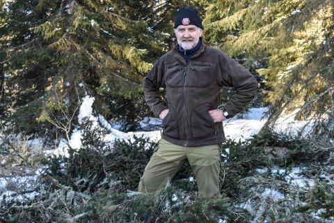 AKSEPT: – En minnelig og akseptabel løsning, sier ornitolog Even Dehli om den reviderte planen for hogst nær en hønsehauklokalitet i Østre Toten.
