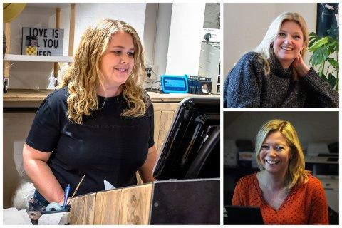 ENIGHET: Kristin Engeli hos Hvit Tråd, Vibeke Askevold og Line Kildal er alle enige i diskusjonen om skjenking på CC.