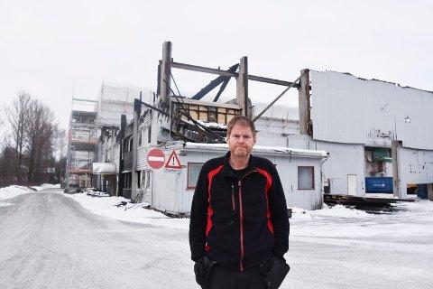 BESKRIVER PLANER: Pål Hansen i GMM Eiendom. Se flere bilder i bildekarusellen.