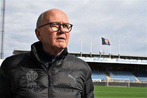 TØFFE DAGER: Styreleder i Strømsgodset Toppfotball, Ivar Strømsjordet, opplever hektiske dager i rasismeanklagene i eliteserieklubben.