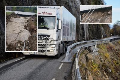 SKEPTISKE: Mange som kjører tungtransport er skeptiske til Fv33 gjennom Skreifjella.