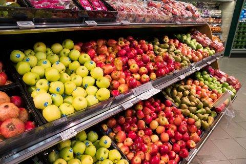 KRANGEL: En krangel om epler på tilbud førte til at politiet rykket ut til Spar på Dokka.