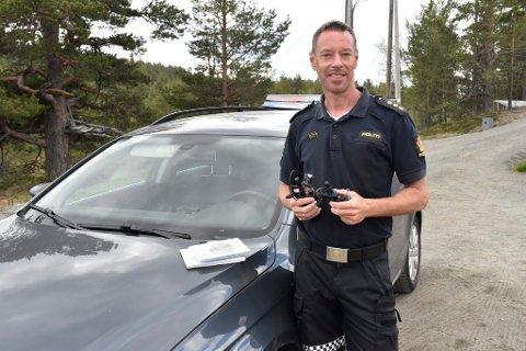 Politiets innsatsleder, Hans Martin Aas