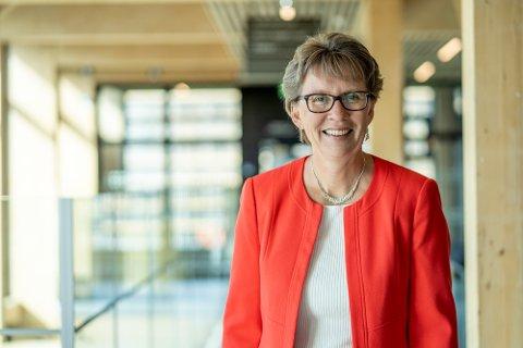 GLAD: Påtroppende viserektor Gro Iren Kvanli Dæhlin gleder seg til å ta imot rekordmange nye studenter til høsten.