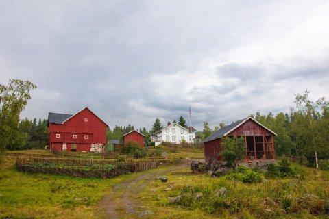FØRSTE TVEKAMP: Årets farmen utspiller seg på Steinsjøen gård i Østre Toten. I dag var det duket for tvekamp, og en måtte forlate gården.