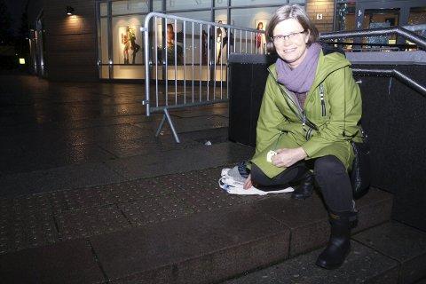 PLANER: Mari Ann Berg (SV) har planer på hvordan rådet for funksjonshemmede kan hjelpe de som trenger det i kommunen. FOTO: KARIN HANSTENSEN
